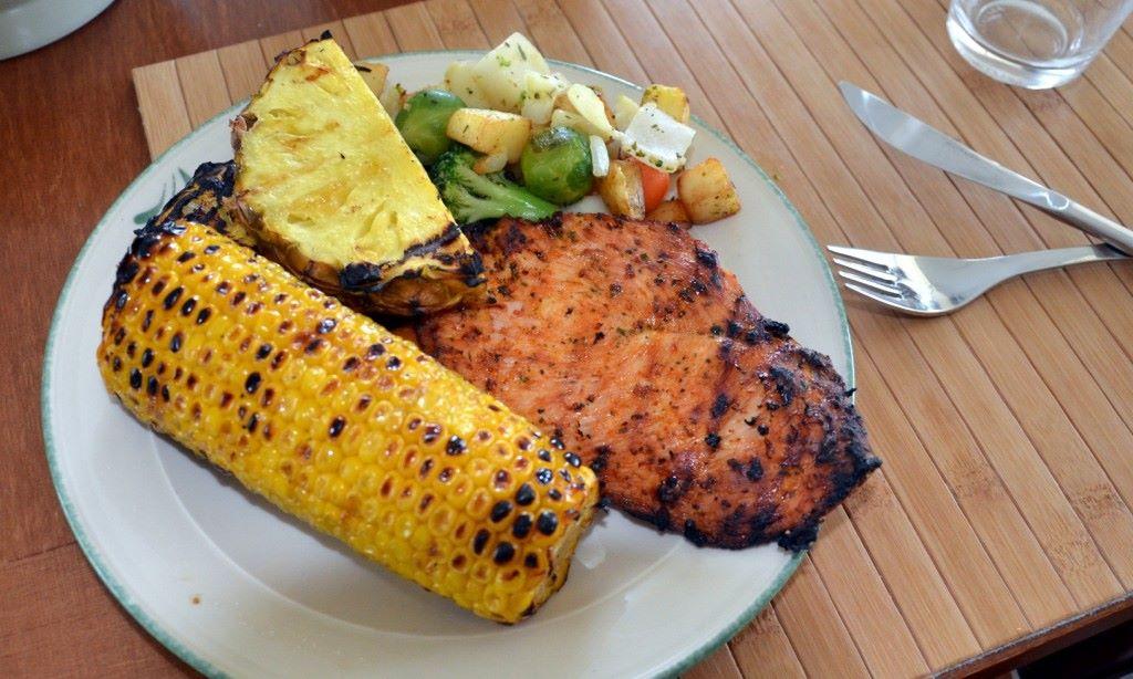 Terveellistä herkkua suoraan grillistä :)