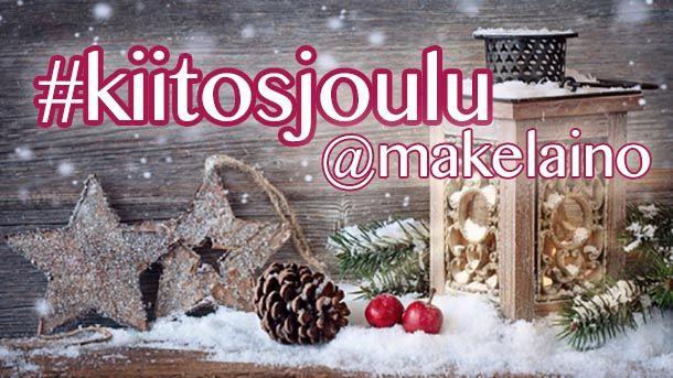 Joulukalenteri #kiitosjoulu