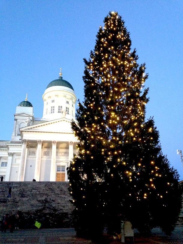 Helsingin kaupungin joulukuusi