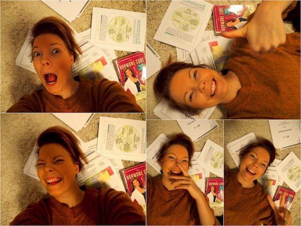 Aino opiskelee