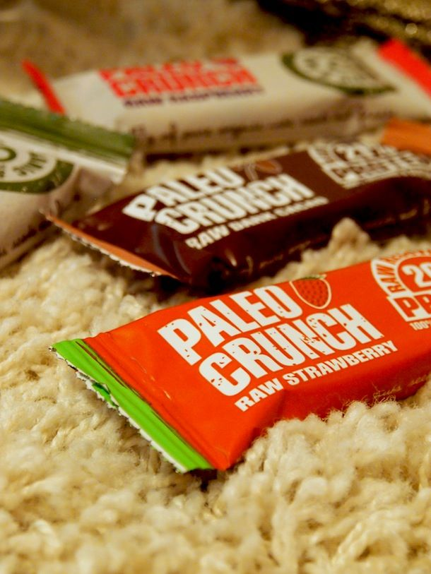 Paleo Crunch, proteiini/välipalapatukka