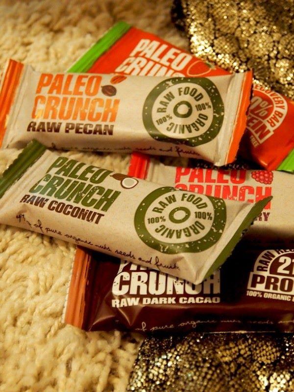 Paleo Crunch, välipala/proteiinipatukka