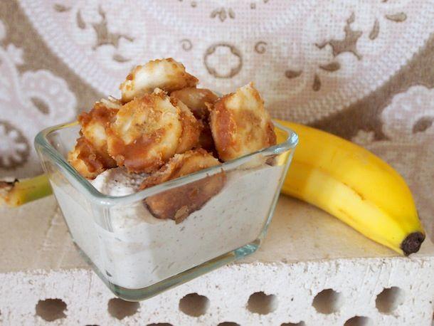 Karamellisoidut banaanit