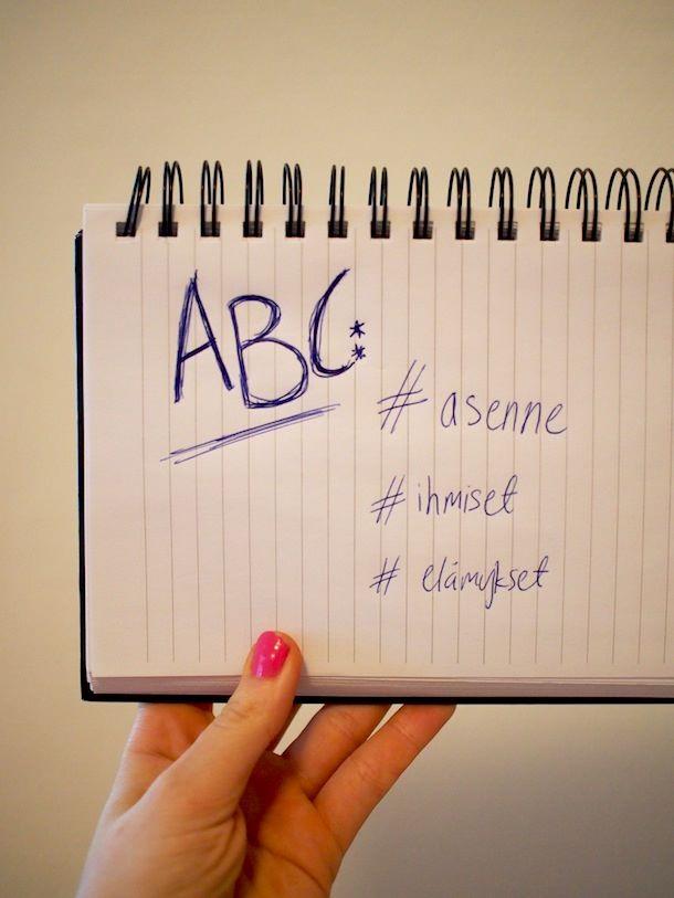 Reissaajan ABC