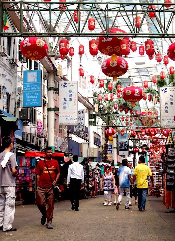 Chinatown, Malesia