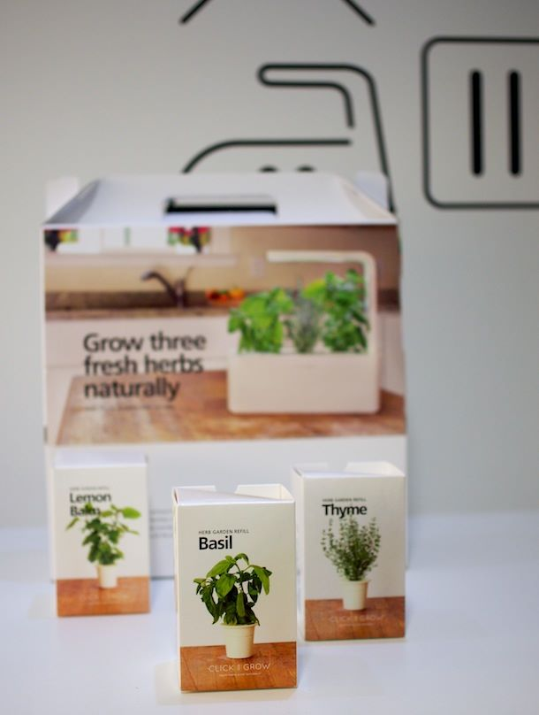 Yrttitarha, Click&Grow