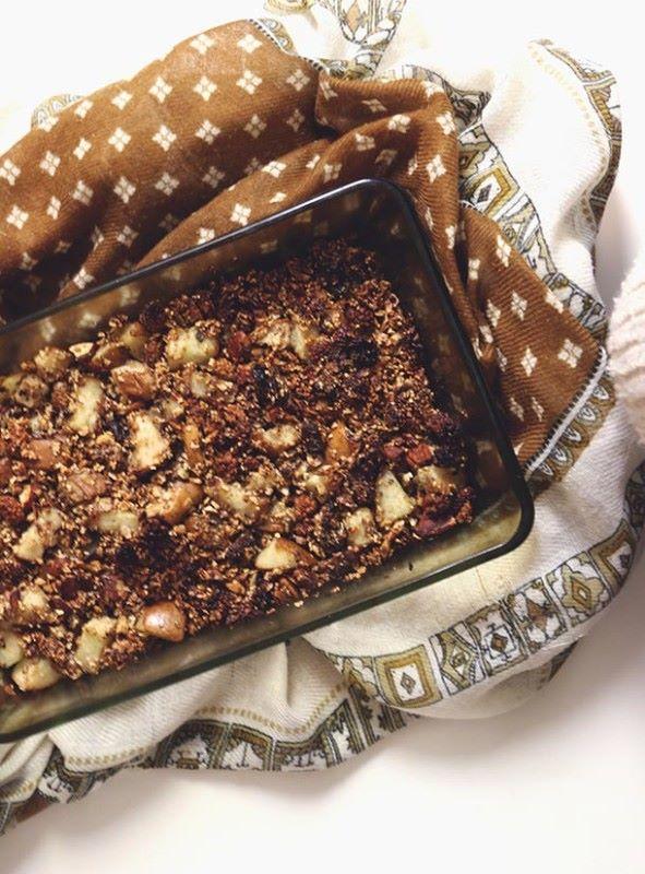 Päärynä-granolapaistos