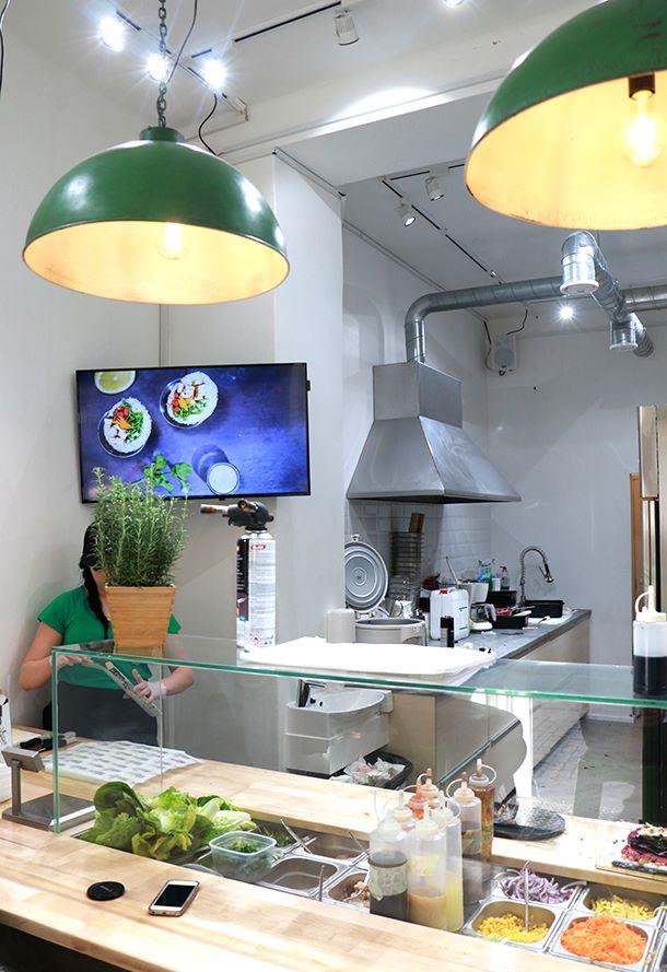 Ravintola Soma, sushiburrito