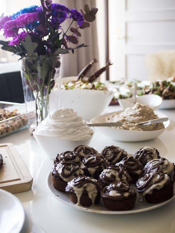 Suklaiset bataattimuffinssit