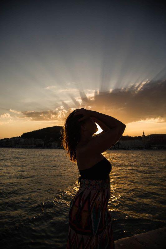 Kroatia, auringonlasku