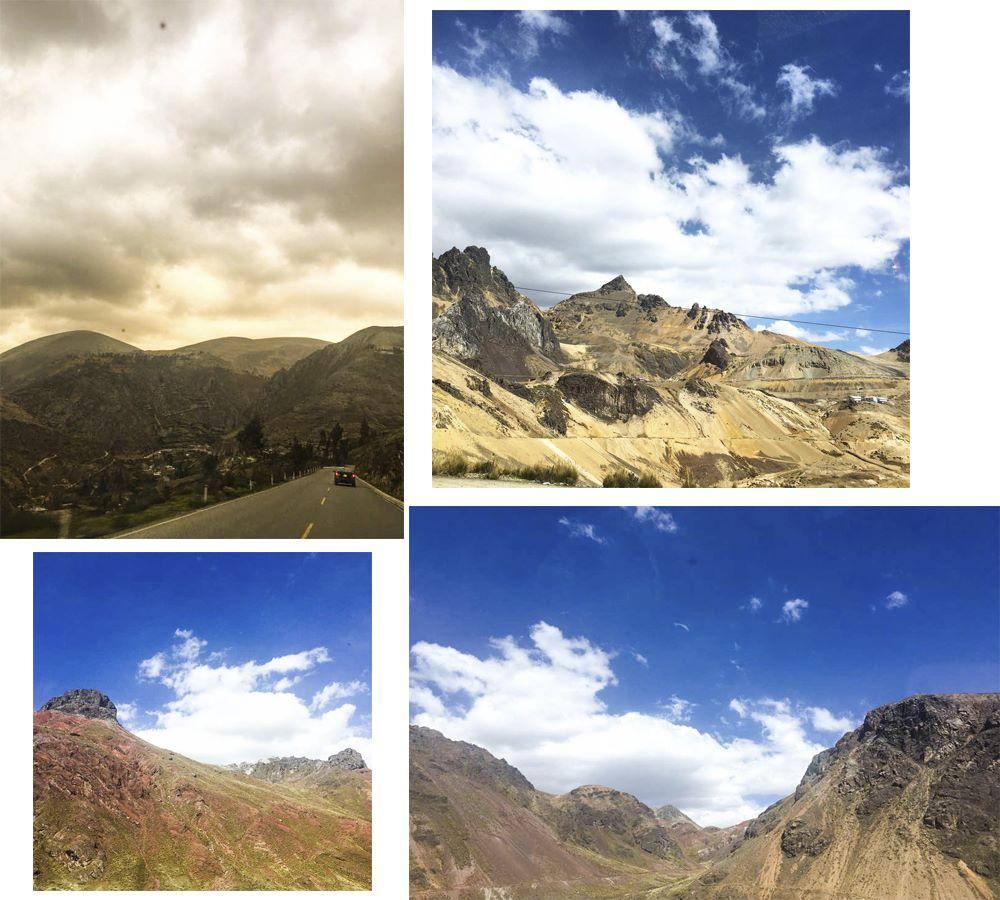 Andien yli viidakkoon