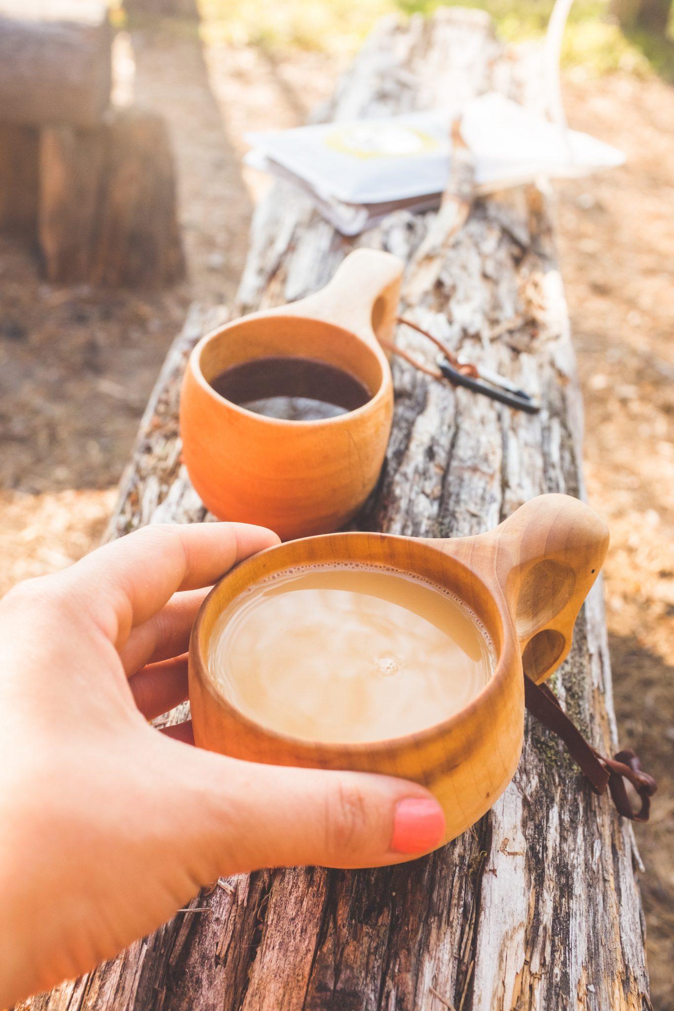 Nokipannukahvi, kahvielämys